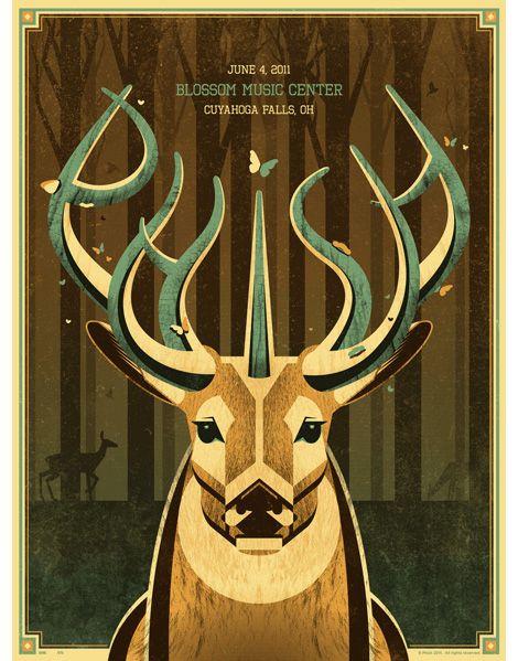 DKNG Studios / Phish poster