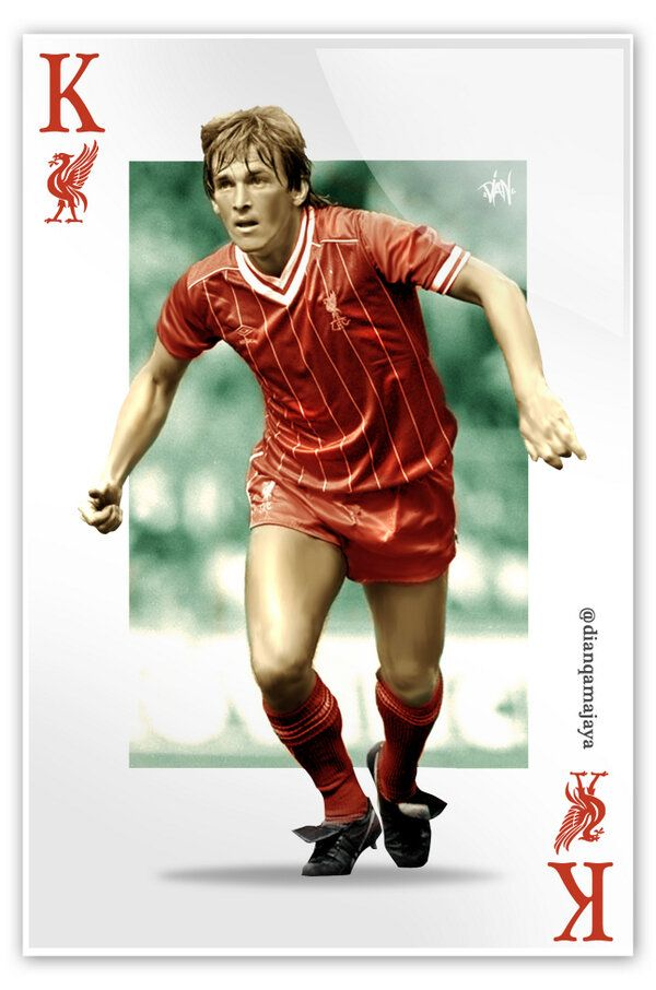 The King #Kenny #lfc #legend