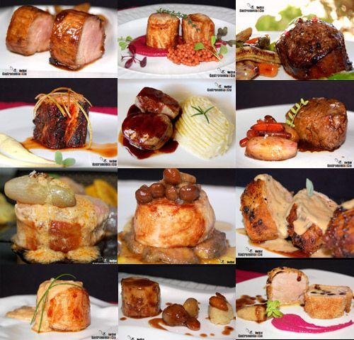Doce recetas con solomillo de cerdo