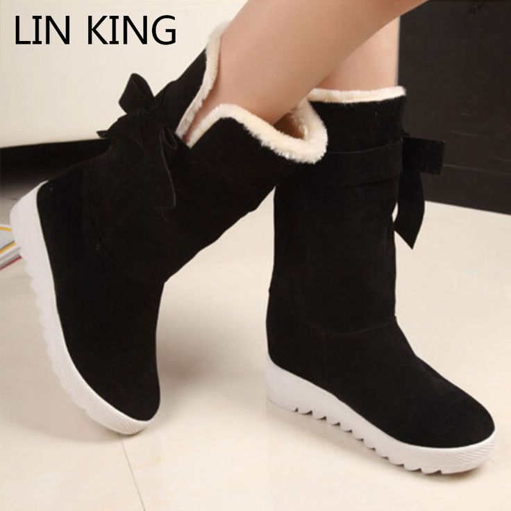 $9.78 (Buy here: https://alitems.com/g/1e8d114494ebda23ff8b16525dc3e8/?i=5&ulp=https%3A%2F%2Fwww.aliexpress.com%2Fitem%2FNew-British-Style-Winter-Snow-Boots-Women-Fashion-Warm-Bowtie-Ankle-Boots-Casual-Cotton-Padded-Lady%2F32402453687.html ) LIN KING British Style Winter Snow Boots Women Fashion Warm Bowtie Ankle Boots Casual Cotton Padded Lady Lace Up Famale Shoes for just $9.78