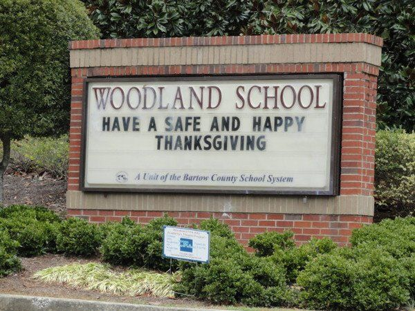 Woodland — at Woodland High School in Cartersville, Ga.