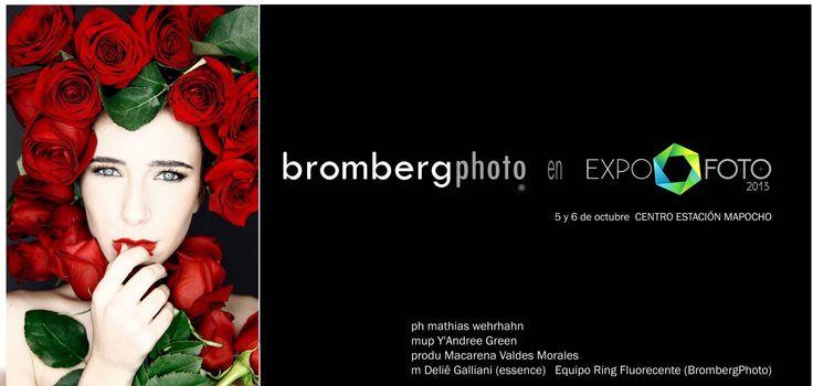 Bromberg Equipos Fotográficos en Expofoto2013. 5 y 6 de Octubre en Estación Mapocho.  +info http://www.expofoto.cl/ www.brombergphoto.com