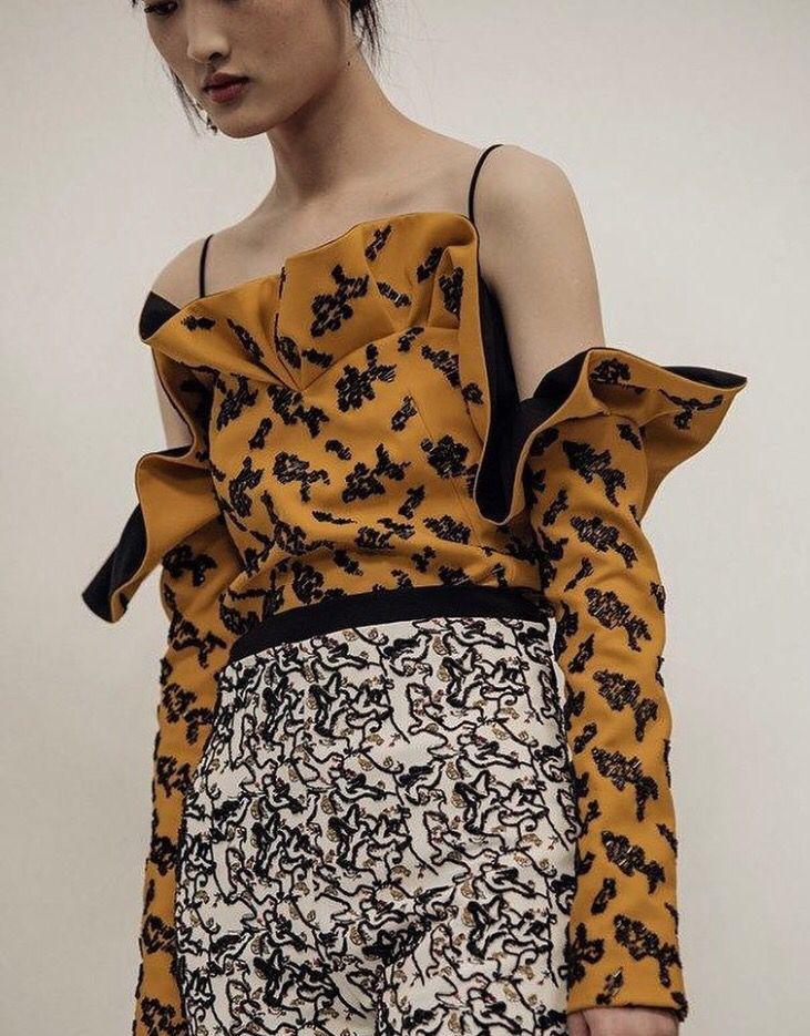 Dior Spring Summer 2016 Haute Couture shot by Chloé Le Drezen for Dazed Fashion Magazine