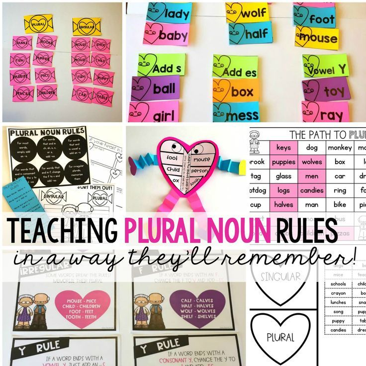 Introduce or review plural noun rules in a fun, engaging way!  They'll never forget what singular and plural mean with this lesson!