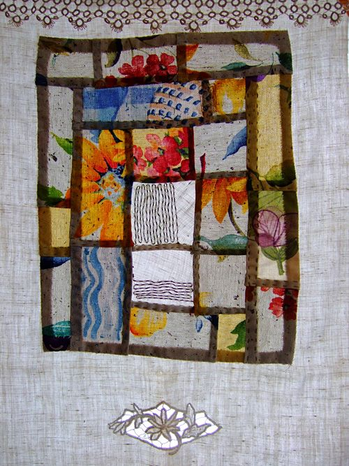 Bojagi - by Anne Kata Bojagi are traditional Korean wrapping cloth and they are usually square. They date back to the 12th century. The popular patchwork pojagi sewn from fabric scraps - exploring print within each panel