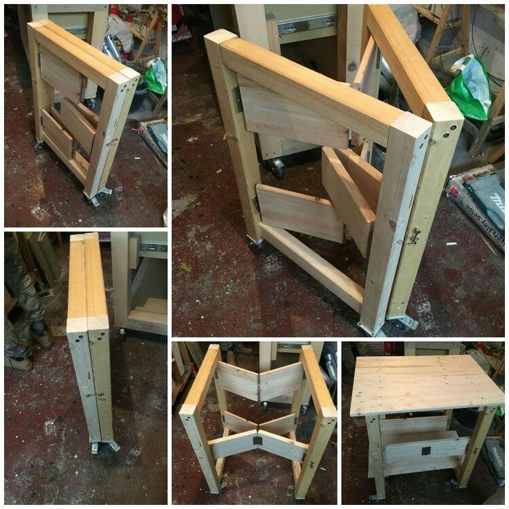 Skladací stolík do dielne