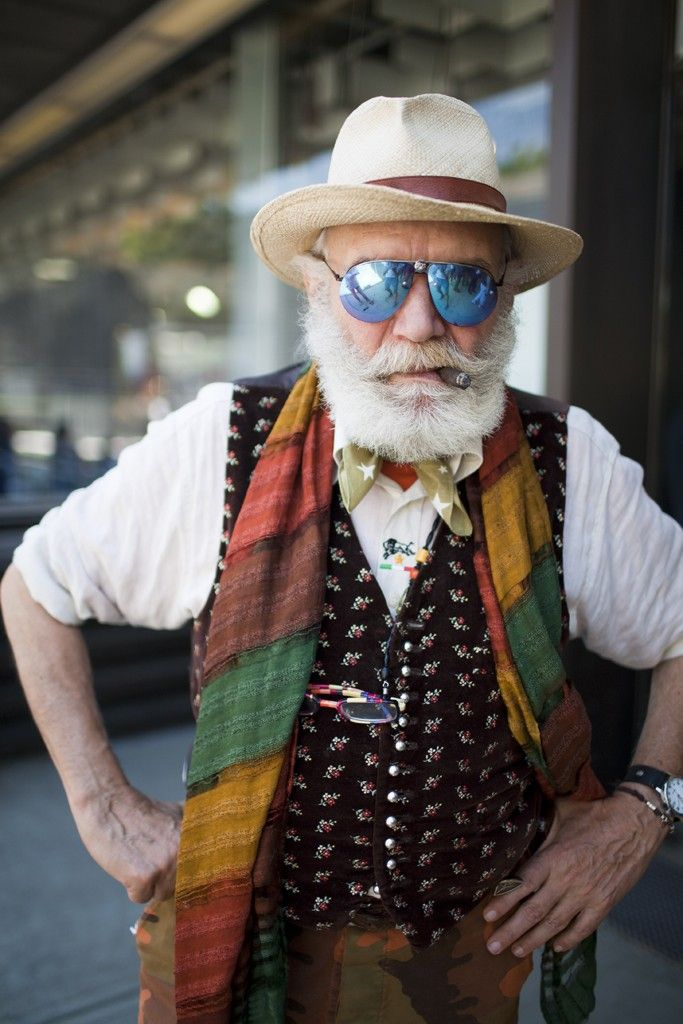 I hope I grow old as dapper as this dude
