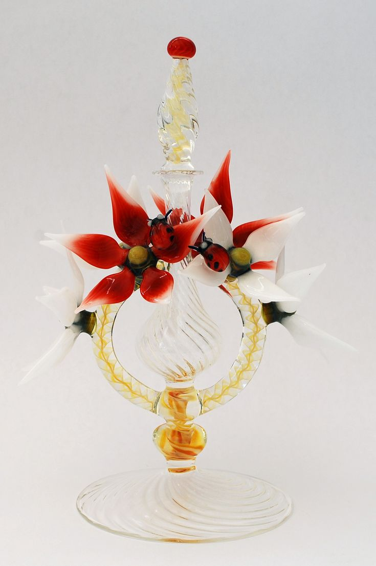Silver Quill Antiques and Gifts - Contemporary Art Glass Perfume Bottles