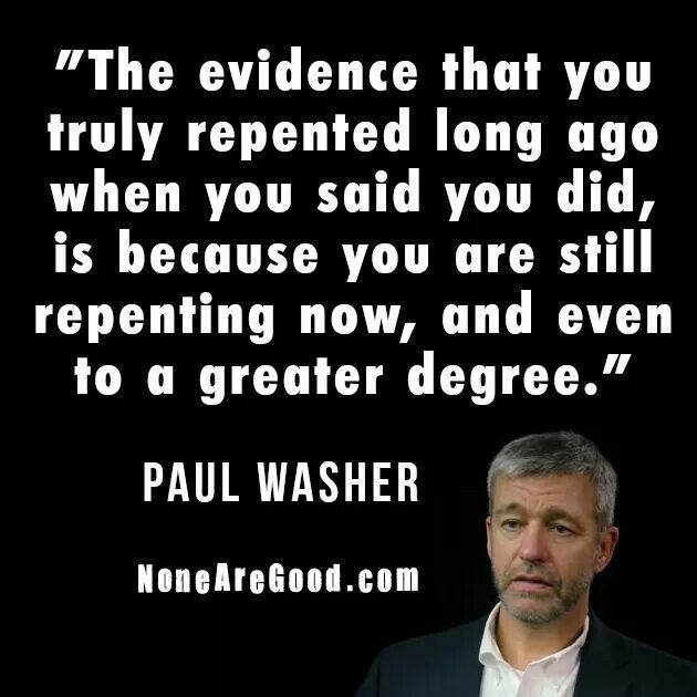 christian quotes | Paul Washer quotes | repentance