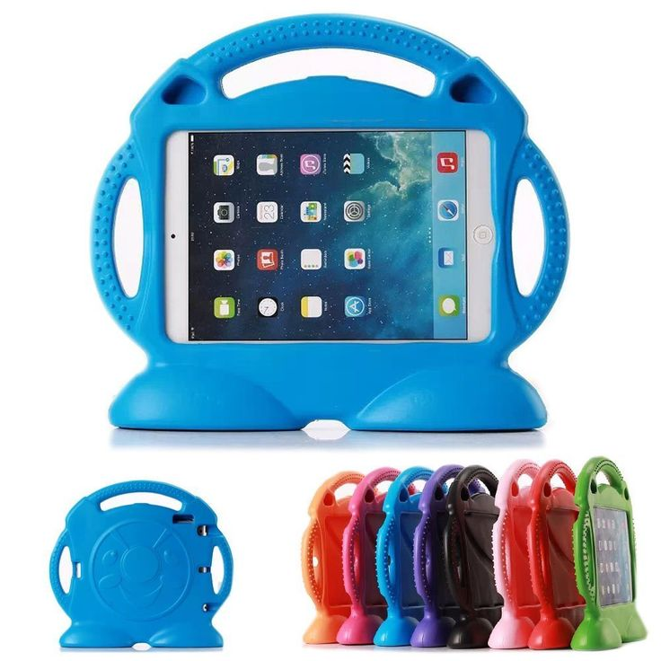Amazon.com: iPad 2 3 4 Protective Case MUZE® Stand Feature Thick Foam Shock Proof Kids Proof Cute Cartoon EVA Children Kids 3D Case Protection Rubbers Carrying Case and Cover with Handle for Apple iPad 2/3/4 Generation Tablet (Green): Cell Phones & Accessories