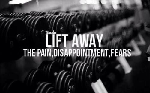 Lifting truly is the best medicine.