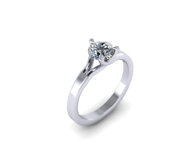 3 prong setting for maximum sparkle!!   http://www.jewellerybyliamross.com/home-page.html