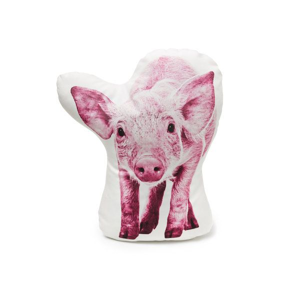 Pig pillow pig cushion pig pink cushion pink pillow