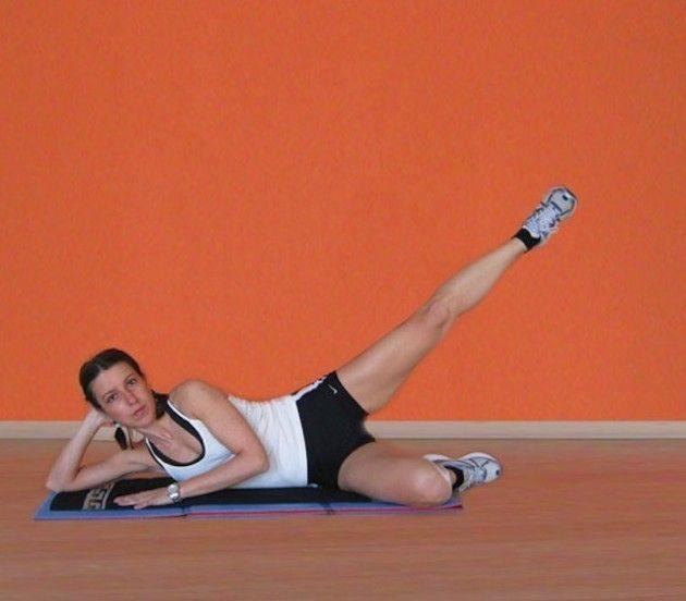 Gamba alzata - Niente più pelle a buccia d'arancia con questo  esercizio.
