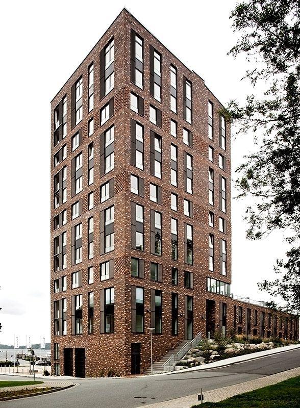 Blick auf den Südturm. </br>Foto © APB. Architekten (Einreichung im Rahmen des Fritz-Höger-Preises 2011)