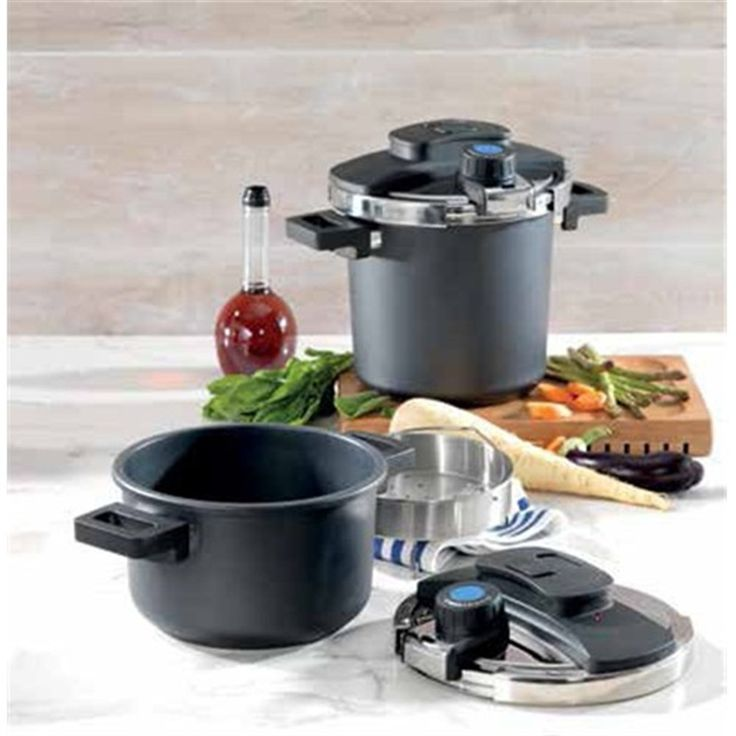 Baccarat 4L 22 cm Easy Twist Pressure Cooker | Double Boilers & Pressure Cookers
