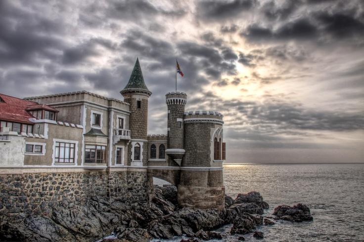Castillo Wulff, Viña del Mar, Chile,   HRD