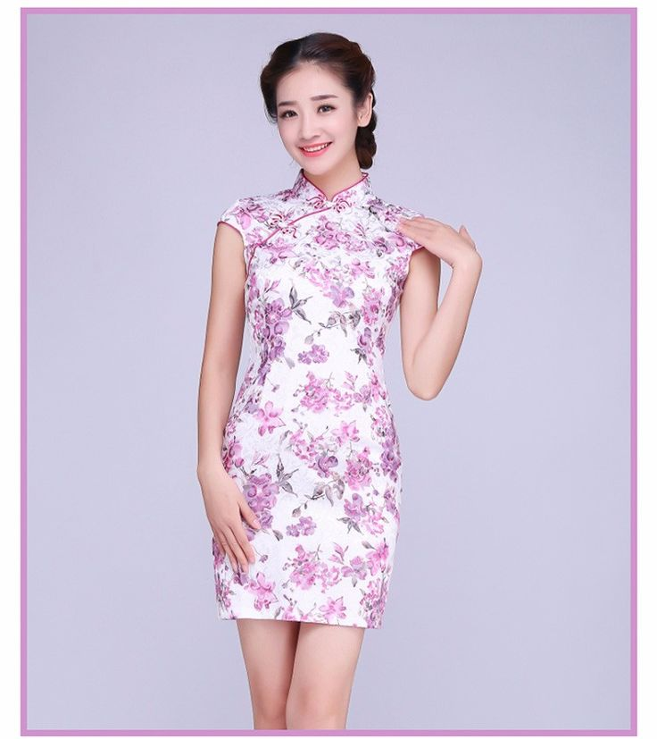 2016 spring chinese women's satin cheongsam qipao evening dress chinese oriental dresses traditional velvet chinese dress Click visit for check price #apparel #worldapparel