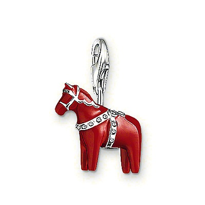 Thomas Sabo Charm Dalarna Horse - Sweden, Swedish