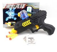 $8, $1 shipping  Newest 2-in-1 toy guns. Paintball gun or soft bullet gun. With 3 soft bullet and 400 crystal paintba