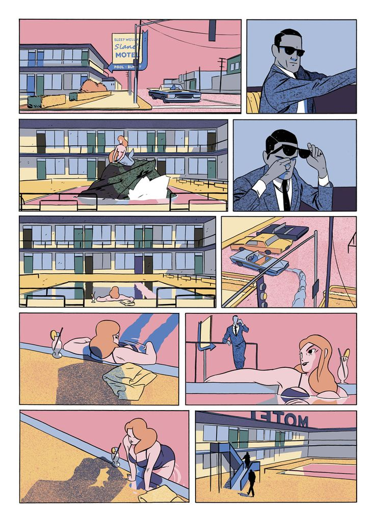 WM_Clerk_Colvill_Nobrow_Page2 Tell stories from object to object effectively without speech bubble