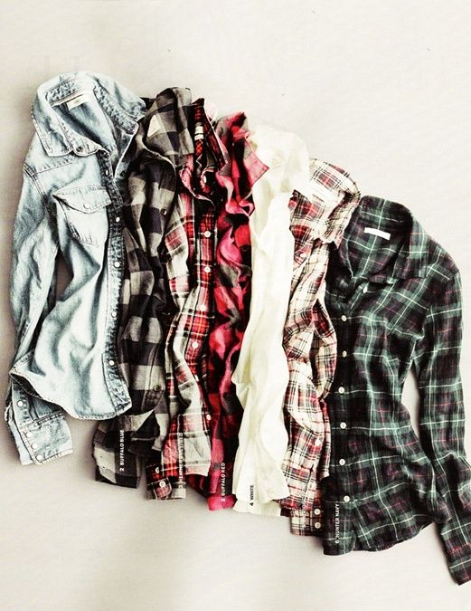 Cheap flannel shirt, preferably denim
