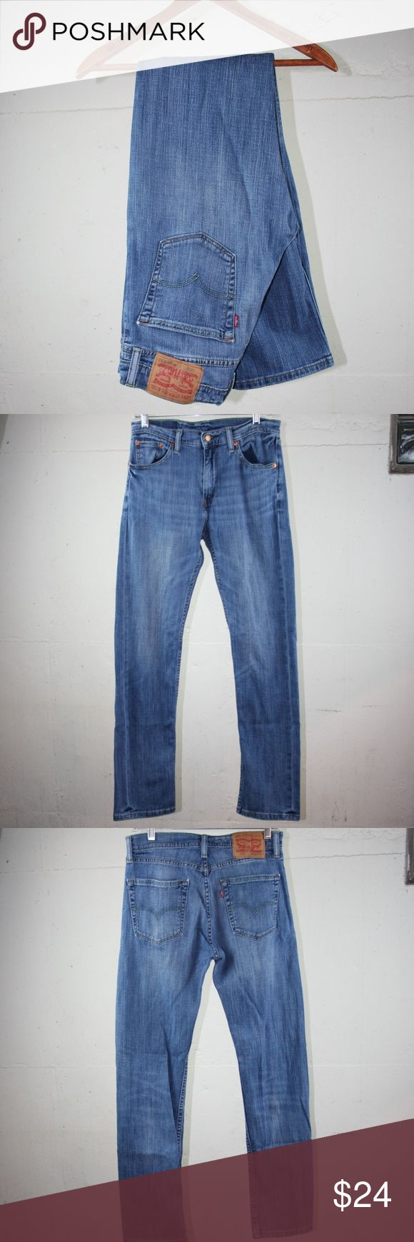 """Levis 505 Jeans Brand: Levis 505 Size: 30x 32 Color: Blue Material: 99% Cotton/ 1% Elastine  Measurements (measured straight across while laying flat): Waist: 15"""" Rise: 11 Inseam: 32""""  Thank you for your interest! Levi's Jeans"""
