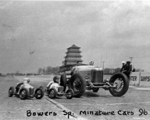 The original Pagoda (1932) at the Indianapolis Motor Speedway.