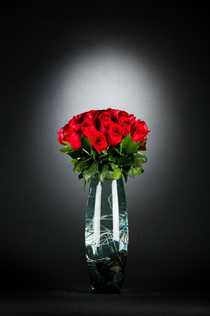 Arreglo Florale Rosas Rojas | Arreglos florales de Rouge, flowers by Annafiori