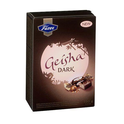 Fazer Geisha Dark Chocolate with Hazelnut Box - Fazer $6.95