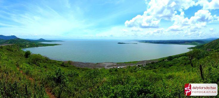 Vista del Lago de Managua desde Ciudad Sandino. #lagodemanagua #Nicaragua #fotografía de #delpilarsanchez