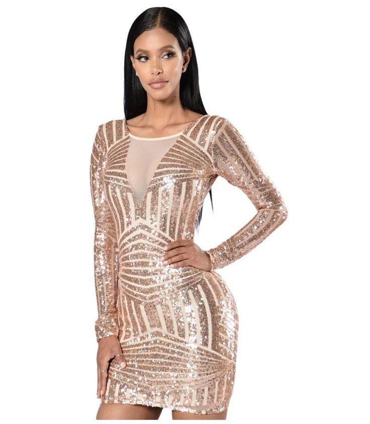 Εξώπλατο Clubwear μίνι φόρεμα με πούλιες