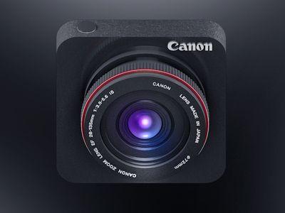 Dribbble - Canon Icon Design by Vu Nguyen