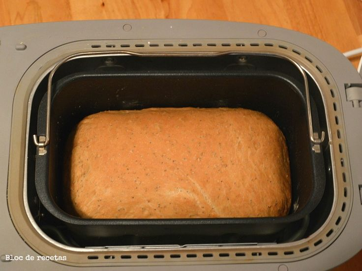 Bloc de recetas: Pan de molde con semillas en panificadora Moulinex Home Bread Baguette