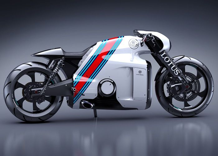 Working Lotus C 01 Superbike Created By Tron Designer Daniel Simon