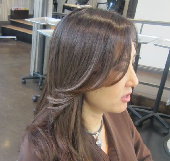 Dark ash brown hair color pictures