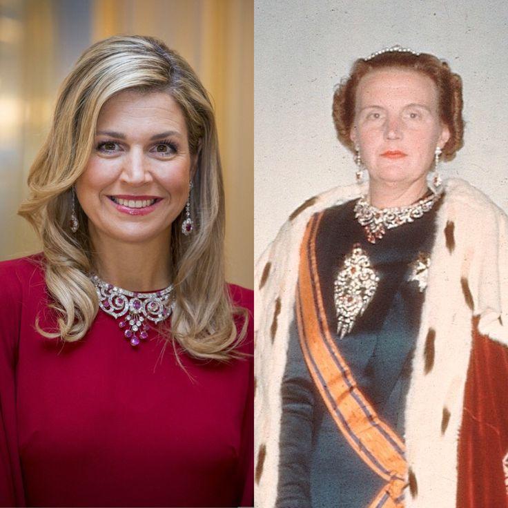 ♥•✿•QueenMaxima•✿•♥... and Queen Juliana