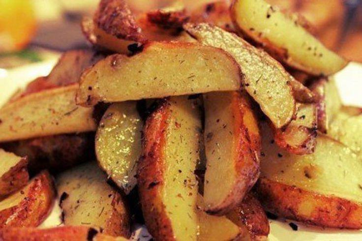 Рецепт блюда Хрустящие картофельные дольки в специях, на сайте Good Recept.