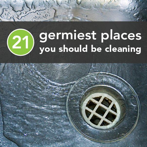 Germiest places