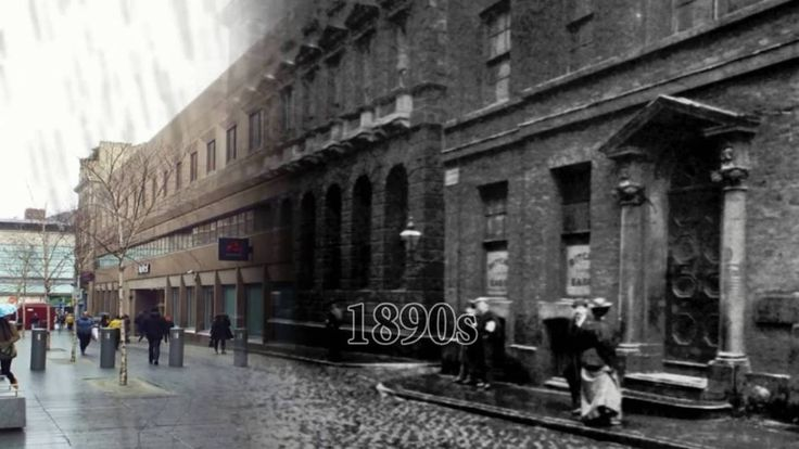 Manchester As You've Never Seen It Before | Motion 3D | Step Back In Time 100 Years