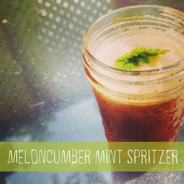 Meloncumber Mint Spritzer