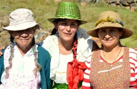 The sweetest ladies in Villa de Leyva