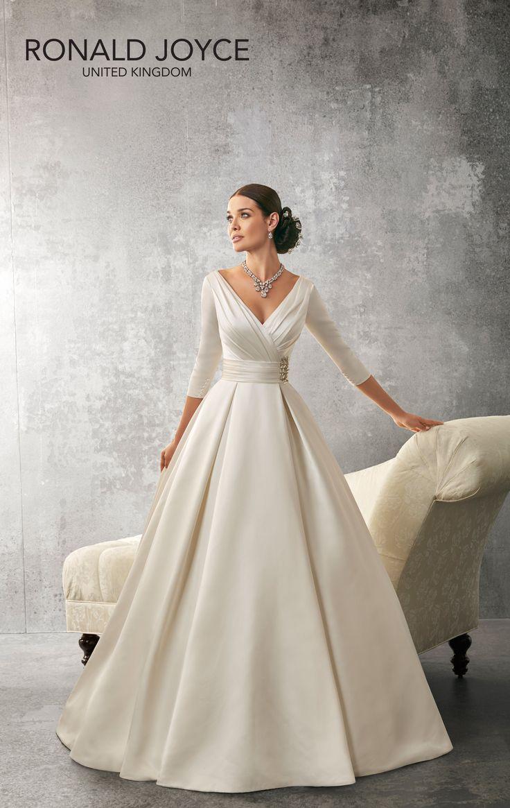 Ronald joyce lace wedding dress september 2018  best Evening Wear images on Pinterest  Formal prom dresses