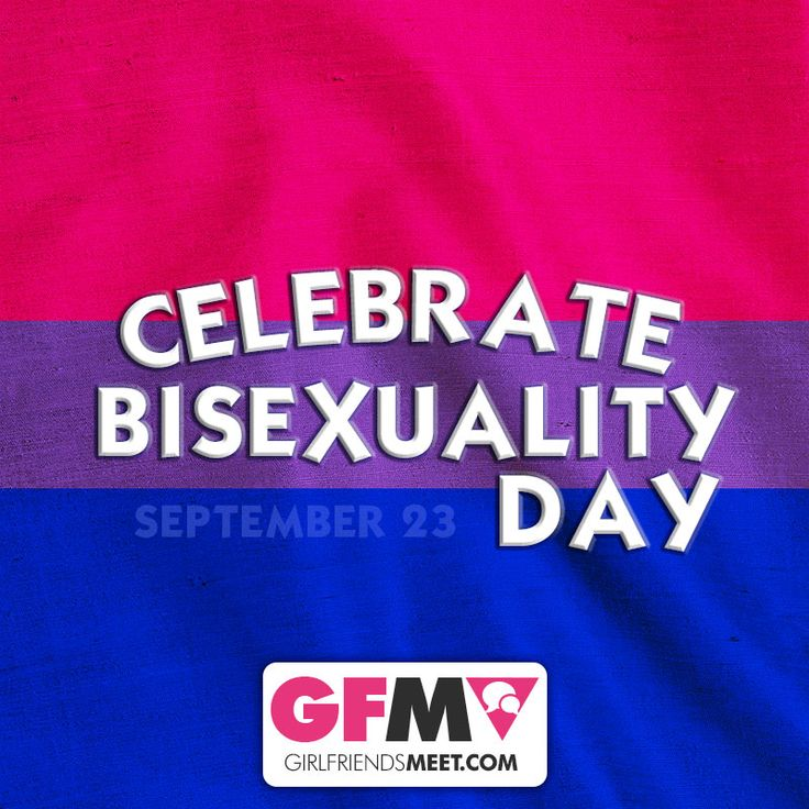 CELEBRATE BISEXUALITY DAY with GirlfriendsMeet.com