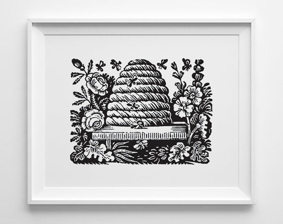 Beehive art.