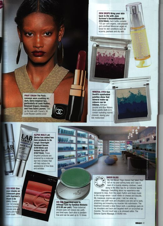 Berry lips for Spring Summer 2011 by Margo Holder