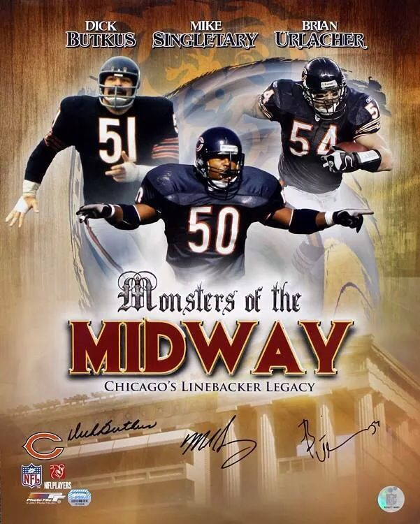 Fist was dick butkus vs the nfl delectable! omg those