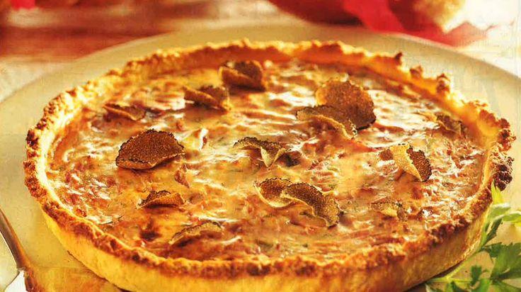 Crostata di cipolle e formaggio al tartufo - Cucina Naturale