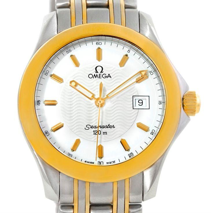Omega Seamaster 120 M Steel Yellow Gold Quaz Watch 2311.21.00