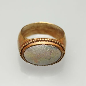 Roman Gold-Glass Finger Ring (100 - 300)